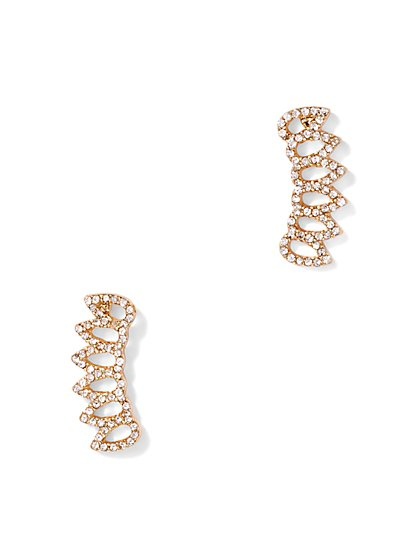 Pavé Ear Climber  - New York & Company