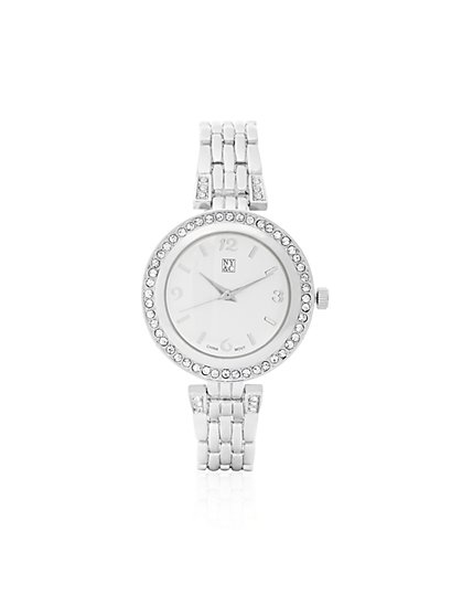 Pavé Link Watch  - New York & Company