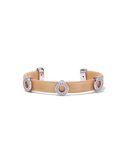 Pavé Mesh Bracelet  - New York & Company