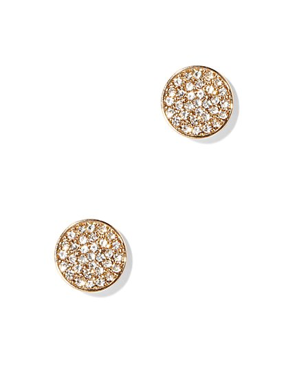 Pavé Post Earring  - New York & Company