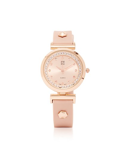 Pavé & Pyramid Stud Watch  - New York & Company