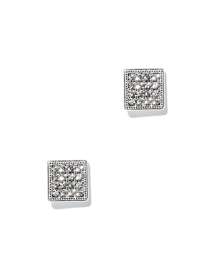 Pavé Square Earring - New York & Company