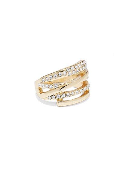 Pavé Wrap Ring  - New York & Company