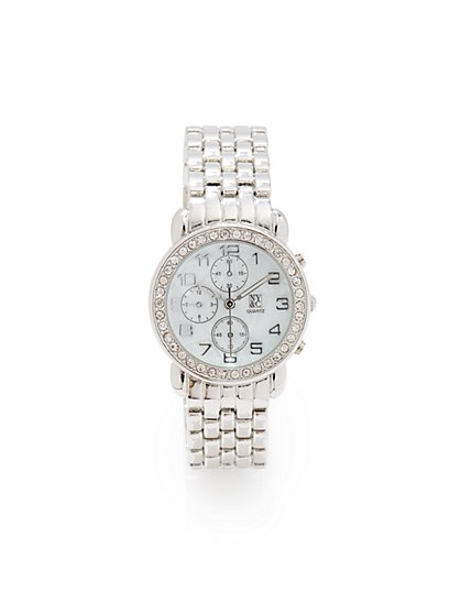 Pave & Multi Links Watch - New York & Company
