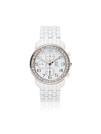 Pave & Multi Links Watch