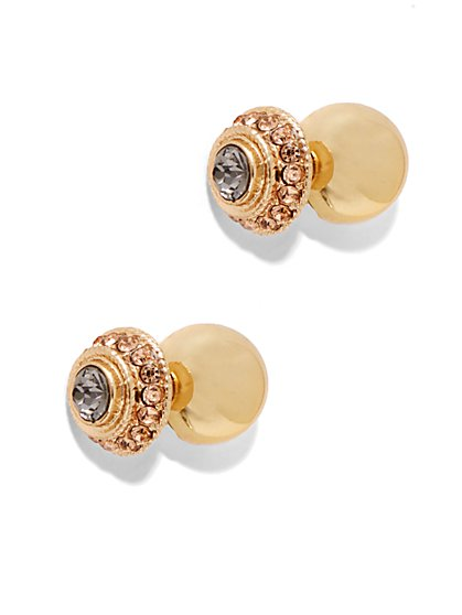Pave Post Earring - New York & Company