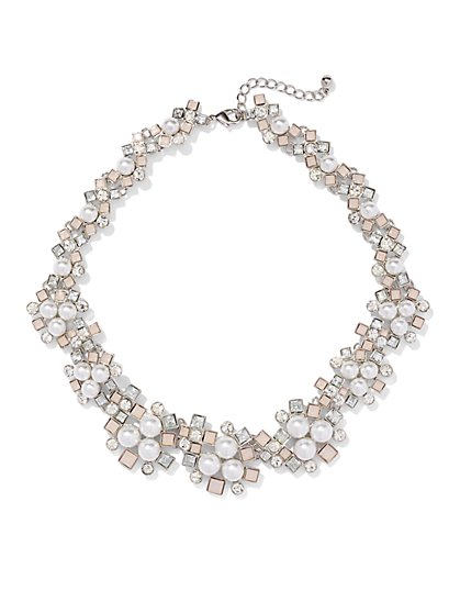 Pearl Collar Necklace  - New York & Company