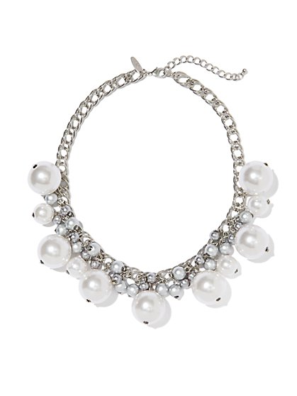 Pearl Jangle Necklace