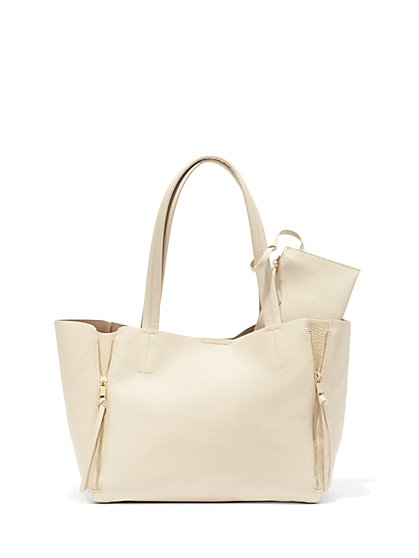 Pebblegrain Tote and Wristlet  - New York & Company