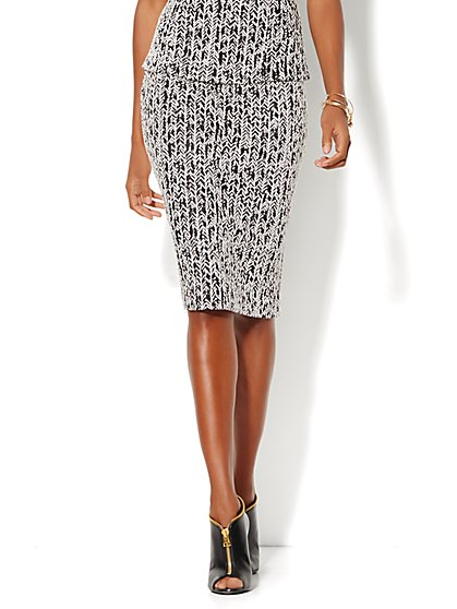 Pencil Skirt - Herringbone  - New York & Company