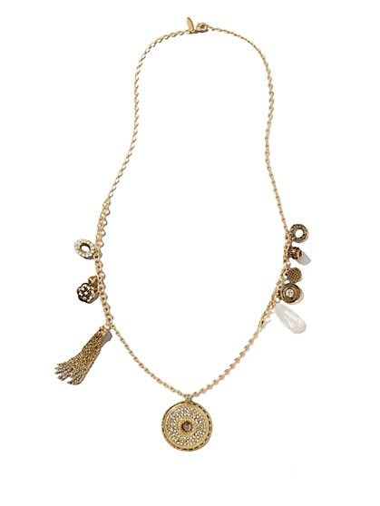 Pendant & Charms Necklace - New York & Company