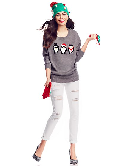 Penguin Sweater  - New York & Company