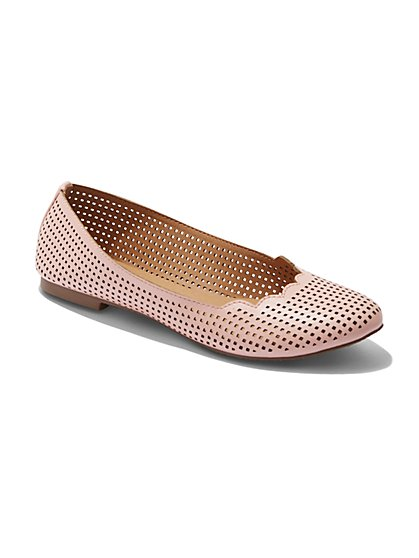 Perforated Ballet Flat  - New York & Company