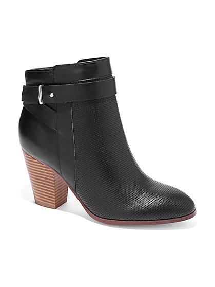 Perforated Bootie  - New York & Company