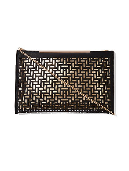 Perforated Clutch - New York & Company