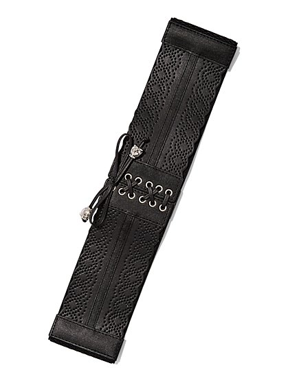 Perforated Corset Belt  - New York & Company