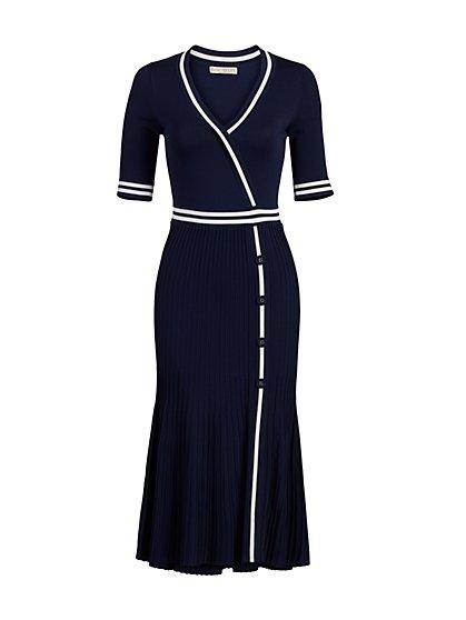 Petite Olga Sweater Dress - Eva Mendes Collection - New York & Company
