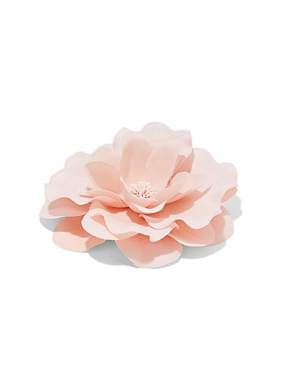 Pink Floral Pin  - New York & Company