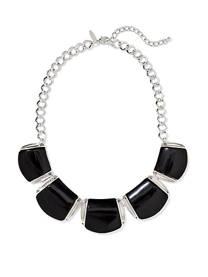 Plate Collar Necklace  - New York & Company