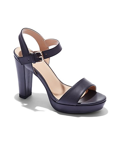 Platform Pump Sandal  - New York & Company