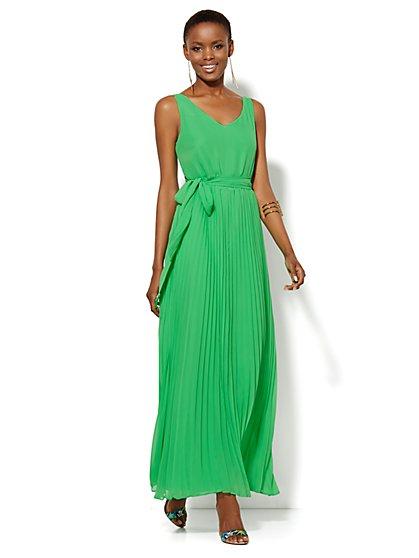 Pleated Maxi Dress  - New York & Company