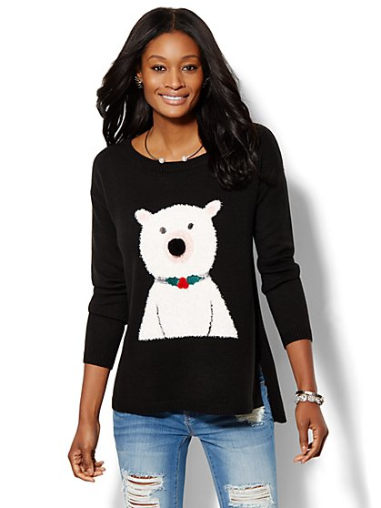Polar Bear Sweater  - New York & Company