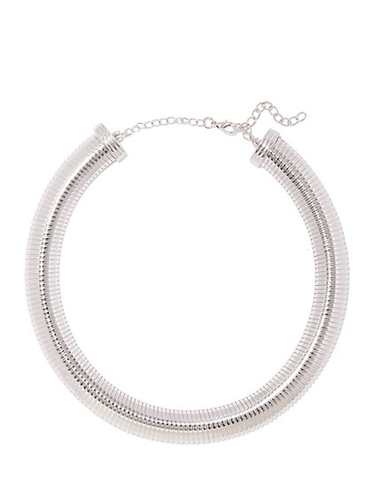 Polished Coil Necklace  - New York & Company