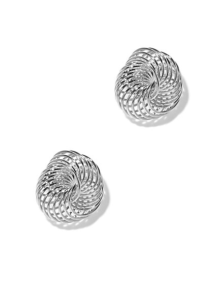 Polished Knot Earring  - New York & Company