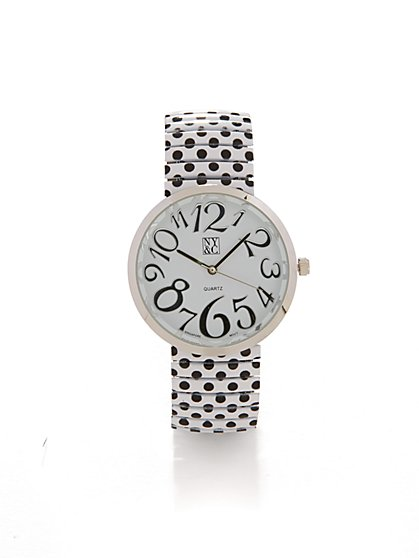 Polka-Dot Watch