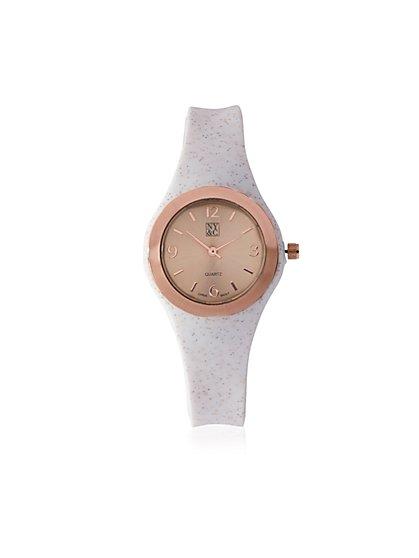Printed Band Watch - New York & Company
