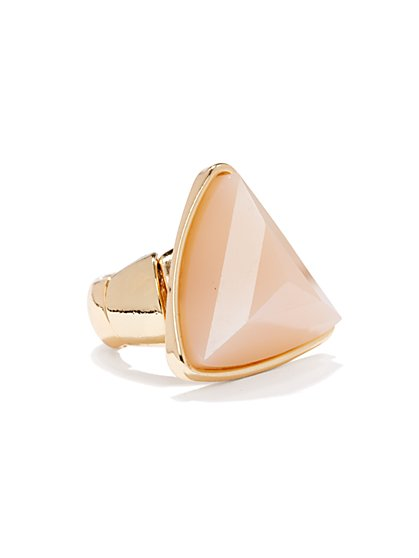 Pyramid Stretch Ring - New York & Company
