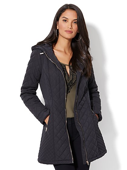 Quilted Anorak - New York & Company