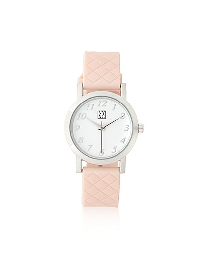 Quilted Band Watch  - New York & Company