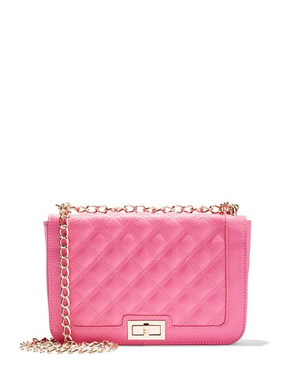 Quilted Shoulder Bag  - New York & Company