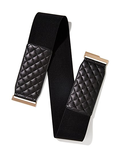 Quilted Stretch Belt  - New York & Company