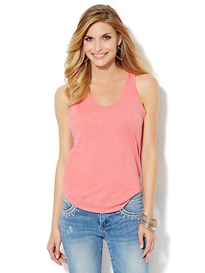 Racerback Tank Top  - New York & Company