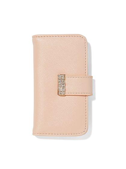 Rhinestone-Embellished Smartphone Case  - New York & Company