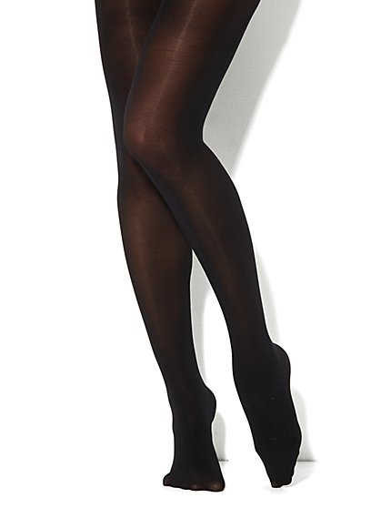 Rhinestone Embellished Tights - New York & Company