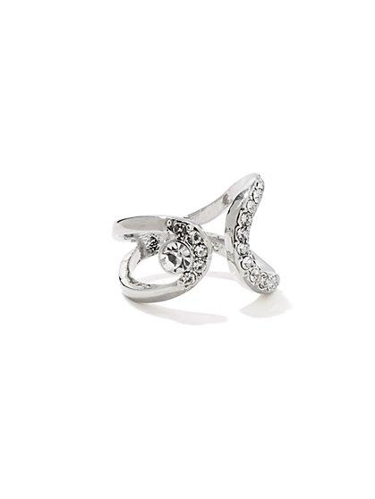 Rhinestone Wrap Ring  - New York & Company