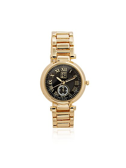 Roman Numeral Bracelet Watch  - New York & Company