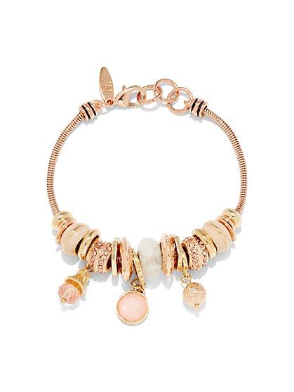 Rondelle Charm Bracelet  - New York & Company