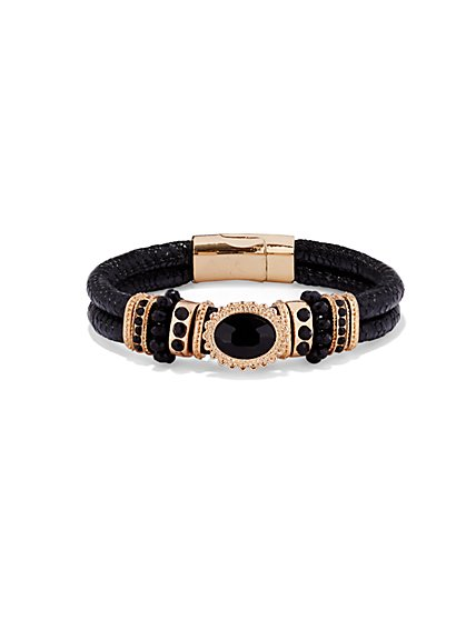 Rondelle Cord Bracelet  - New York & Company