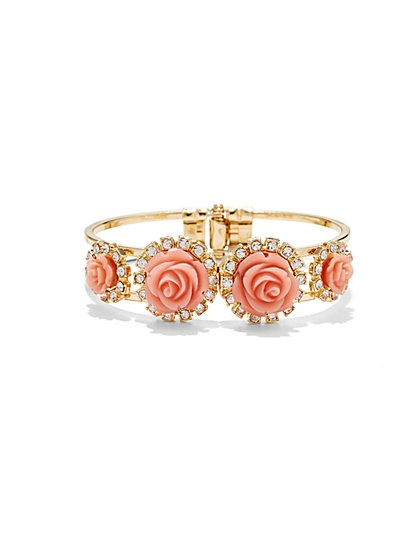 Rose Hinge Bracelet  - New York & Company