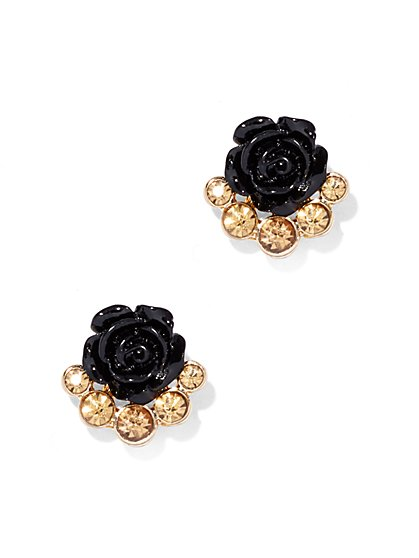 Rosette Post Earring - New York & Company