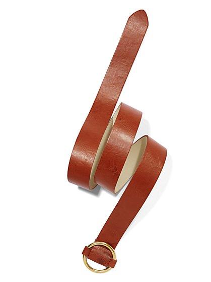 Round-Buckle Belt - New York & Company
