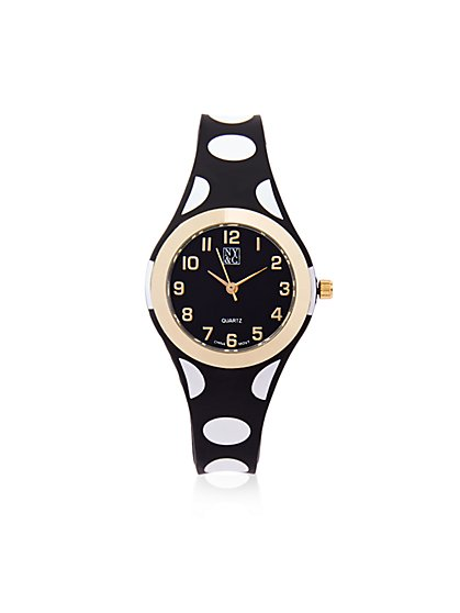 Rubber Strap Watch  - New York & Company