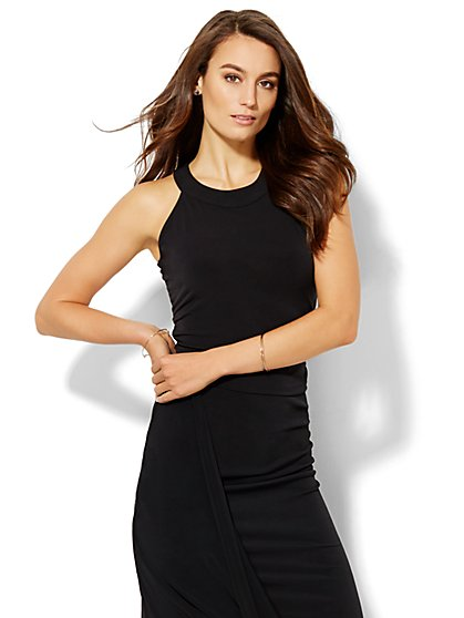 Ruched Halter Top  - New York & Company