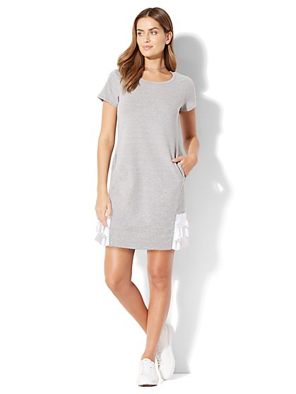 Ruffled Twofer Dress - New York & Company