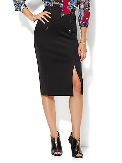 Sailor Pencil Skirt  - New York & Company