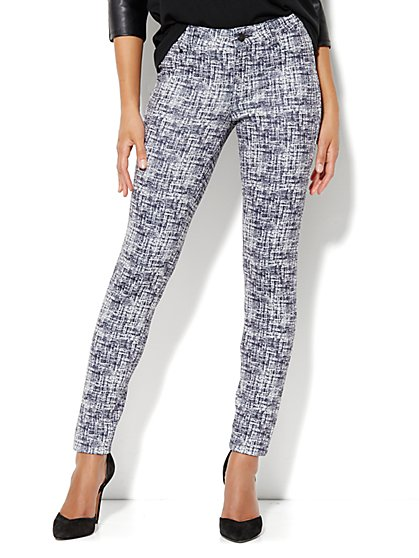 Scuba Print Legging - New York & Company